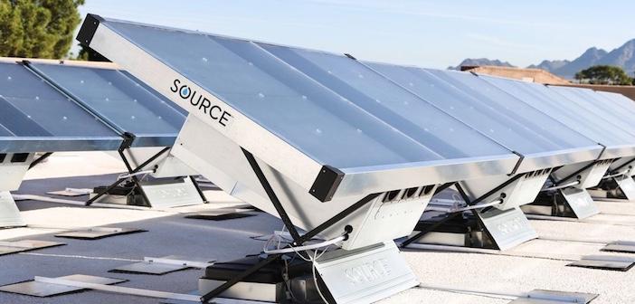 Source, il pannello solare che produce acqua potabile