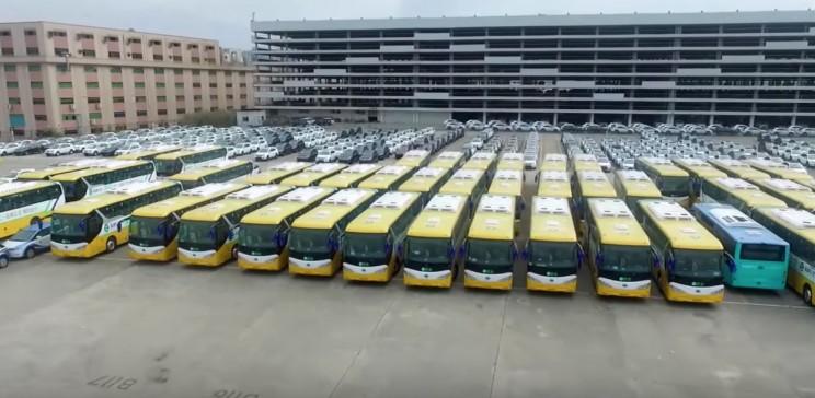 A Shenzhen la più grande flotta di bus elettrici al mondo: pronti 16.000 veicoli