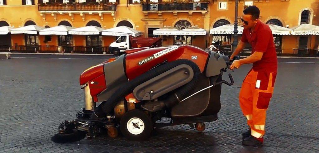 Green Machine, prove tecniche per una Roma pulita