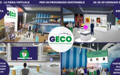 GECO – Green Tourism, Mobility & Energy Expo 2021: al via il 28 gennaio la prima fiera virtuale sulla sostenibilità dal respiro internazionale